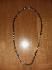 Gold and silver men's necklace  Falling Waters, 25419