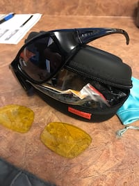 Motorcycle night vision glasses