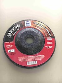 "10 PACK TYPE 27 DEPRESSED CENTER GRINDING WHEELS  SINGLE GRIT 4"" x 1/4"" x 5/8"" Buena Park"