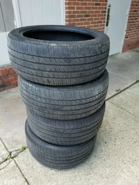 Michelin tires (2)245/45R19 & (2) 275/40R19 for s5 Springfield, 22150