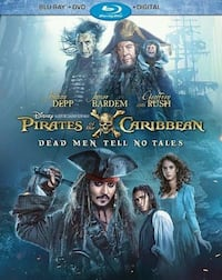Pirate of the Caribbean Dead Men To No Tales