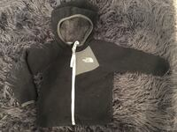 North Face Fleece Jacket. 12-18m. Sorry didn't have a lent roller. 1408 mi