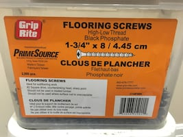 Flooring And Particle Board Screws