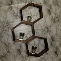 HandMade HoneyComb Wall Shelves*can be extended* Troy, 12180