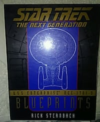 Star Trek Blueprints Erie, 16503