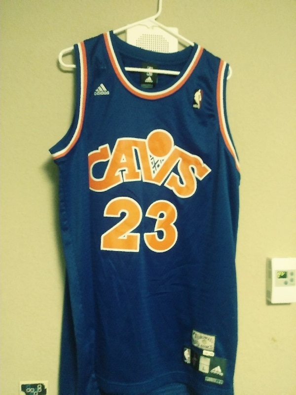 more photos 31801 60bb5 blue and orange lebron jersey