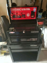 black and red Craftsman tool chest Houston, 77017