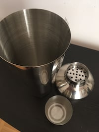 stainless steel and black tumbler Toronto, M9C 1G6