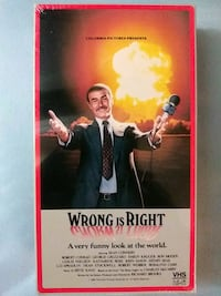 Wrong is Right Right is Wrong vhs Baltimore