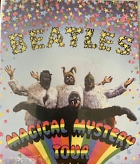 MAGICAL  MYSTERY TOUR DVD THE BEATLES NEW SEALED APPLE 2012