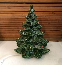 Vintage ceramic Christmas tree Inwood, 25428