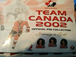 2002 Team Canada Pin set