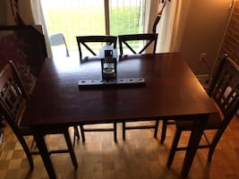 Dining table ONLY.. Chairs SOLD already