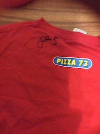 Red Shirt with Mark Giordano Signature  Calgary, T2A 7P2