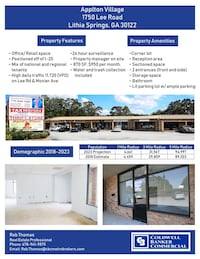 COMMERCIAL For rent 1BA Lithia Springs
