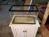 10 gallon glass aquarium Waterford, 12188