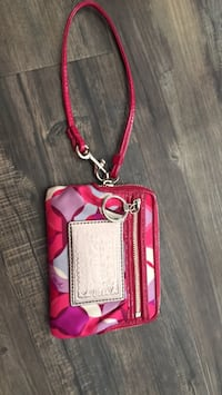 red and white leather crossbody bag Airdrie, T4B 1K5