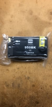 2 Replacement ink cartridges for HP ink 950xl black