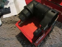 black and red power tool null