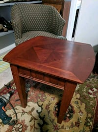 brown wooden drop leaf table Independence