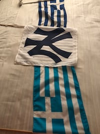 Greek/ New York Yankees Flag  Mississauga, L5M 6V3