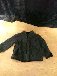 Newborn 0-3 months Grey Fleece Jacket