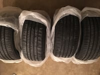 Set of 4 used Pirelli PZero tires ( [PHONE NUMBER HIDDEN] Y) Rockville, 20852