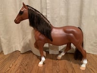 "Tall plastic horse. Measures 20"" tall. Perfect size for the American Girl dolls. Potomac, 20854"