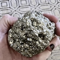 Ball of Metallic Pyrite  Whittier, 90606