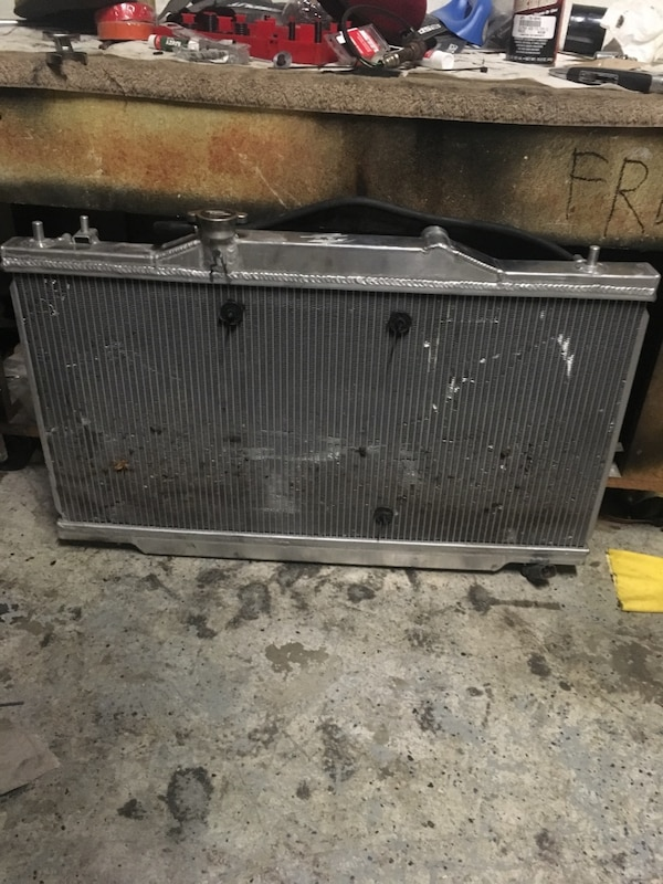 Used Acura Rsx Honda Ep Aluminum Radiator Will Also Fit K Series - Acura rsx radiator