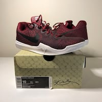 Kobe Mamba Instinct Team Red - Basketball Shoes - Size 10 Waterloo, N2L 5W6