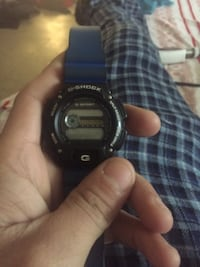 Blue and black g shock watch need battery work good and good condition  New York