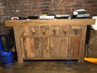 Solid Mango Wood Sideboard / TV Unit / Storage - Excellent Condition New York, 10002