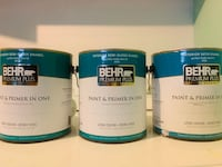 Behr Interior SemiGloss Enamel Ultra Pure White SF