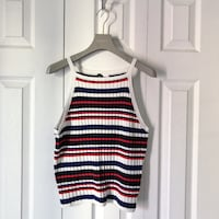 H&M STRIPED RIBBED TANK TOP   Toronto, M4S 2M5