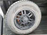 6 bolt rims with Toyo winter tires
