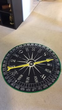 IKEA compass area rug Mississauga, L4Z 2Y9