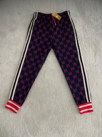 Gucci Jacquard Jogger Pants - Large slim (New) Toronto, M9C 5J5