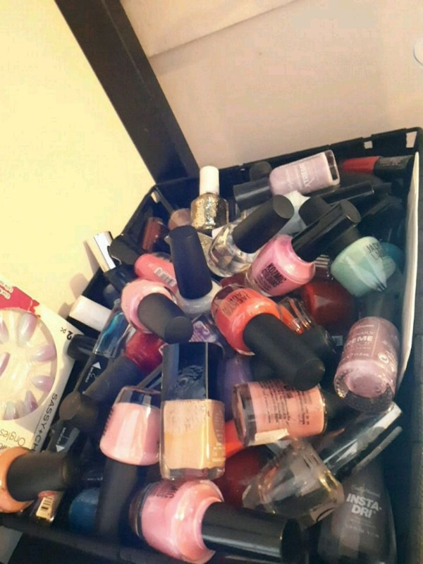 Ton of nail polish  9b3b1be4-17ce-4583-b847-ea78472a2b4b