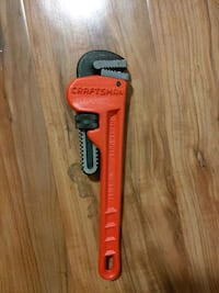 """Craftman 9"""" pipe wrench"""