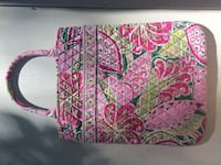 women's pink and green Vera Bradley tote bag Des Moines, 50316