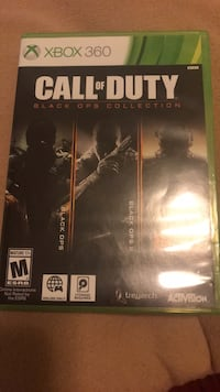 Call of Duty Black Ops Xbox 360 game case Manassas, 20109
