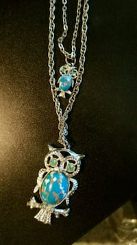 2 tier owl necklace  Fairfax, 22031