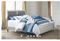 white and gray bed comforter set Capitol Heights, 20743
