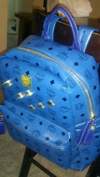 blue and white MCM backpack West Covina, 91791