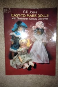Old doll clothes book Chelmsford, 01824