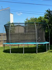 Trampoline used some legs need to be replaced but it still works.