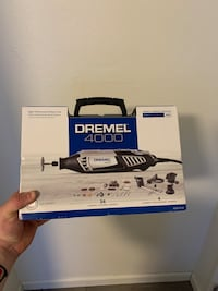 Dremel 4000 from Lowe's never opened