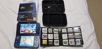 New nintendo 3ds xl with 27 games  Kitchener, N2E 4B3