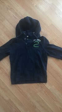 Navy Blue Hollister Pullover size small